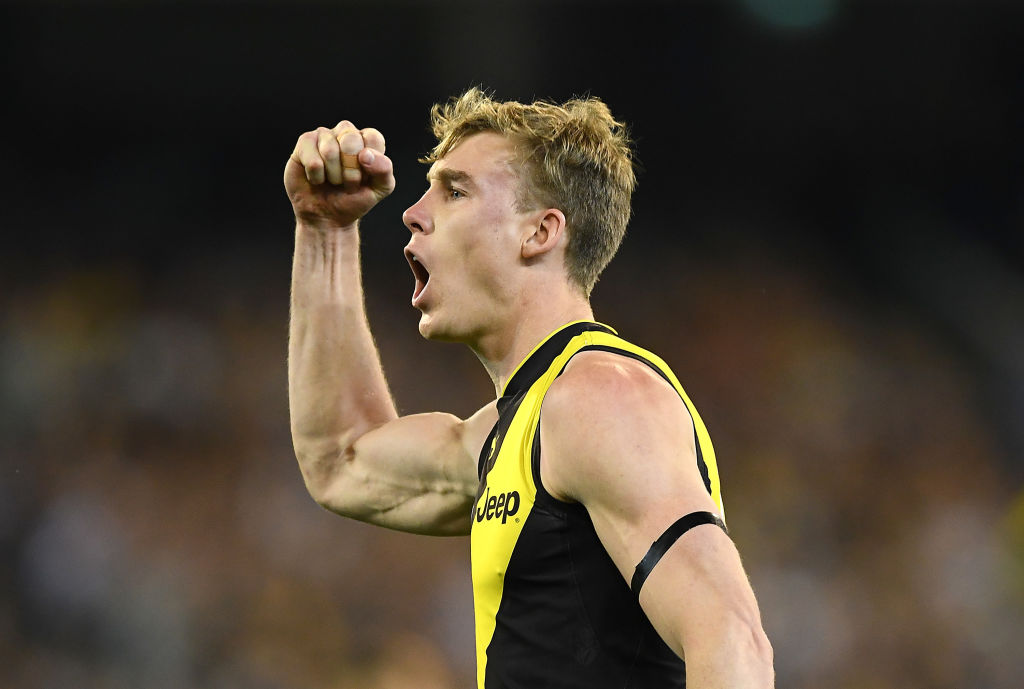 Article image for Tigers beat Cats in pulsating preliminary final