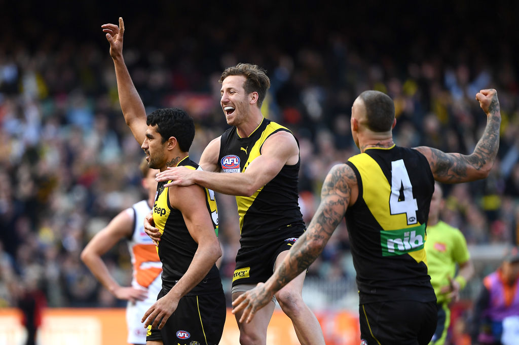 Article image for TIGER TIME! Richmond win second premiership in three years