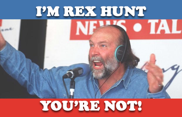 Article image for Podcast: I'm Rex Hunt and You're Not