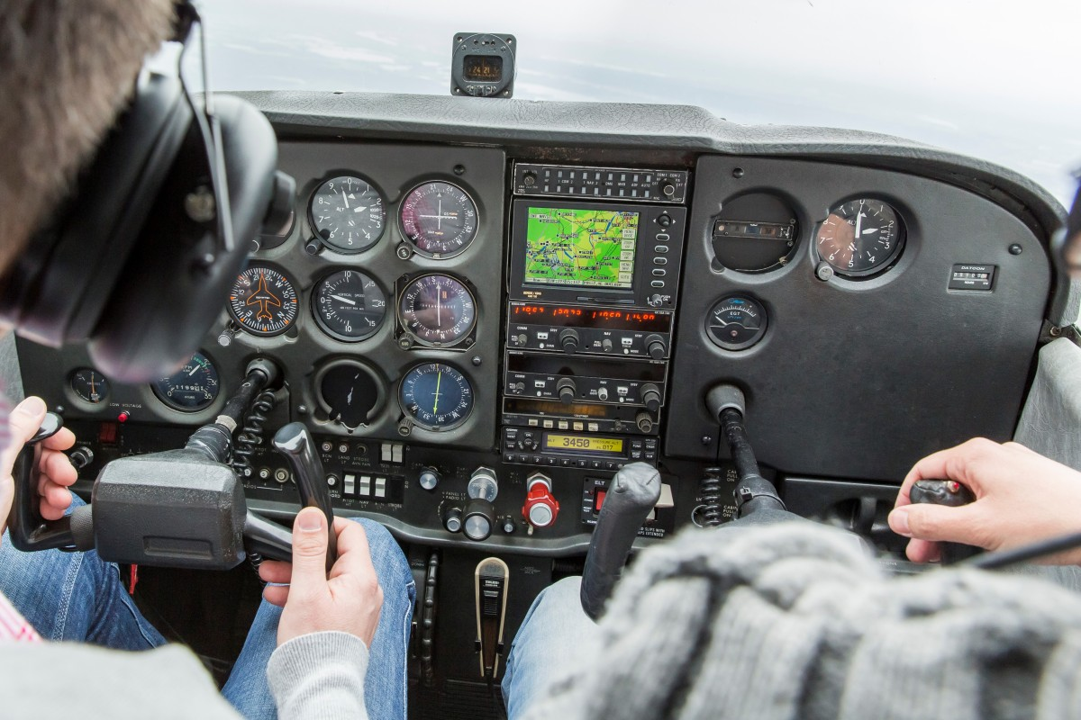 Article image for 'This is my first lesson': Trainee pilot successfully lands plane after trainer blacks out