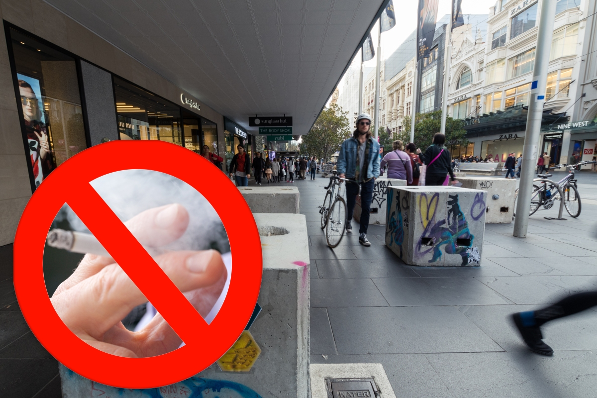 Article image for Smoking ban: Bourke Street Mall tipped to go smoke-free