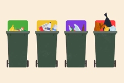 Daniel Andrews says Victorians 'have to accept' possible rate rises to manage new waste system