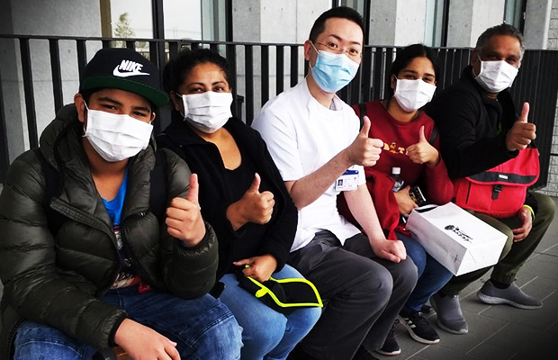 Article image for 'Very, very bad': Melbourne family returns home after coronavirus hell