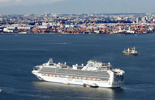 Article image for Cruise ship virus numbers soar as 200 Aussies prepare to return home