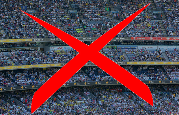 Article image for Sport Minister doesn't expect any AFL crowds in Victoria for at least a month