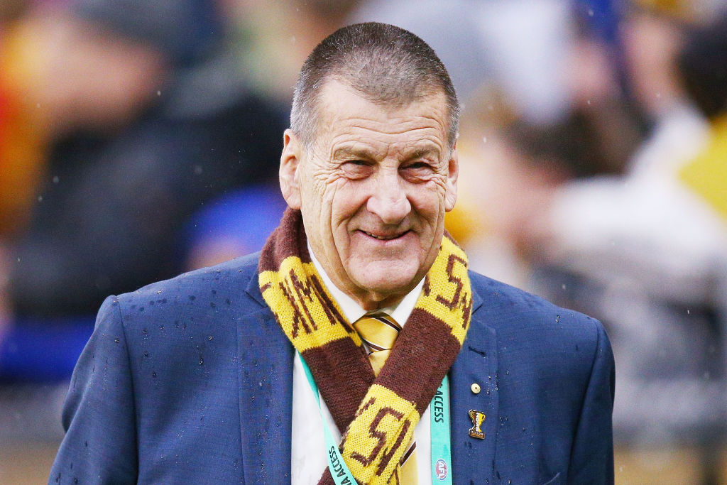 Article image for Jeff Kennett says footy fans should be able to attend AFL games (for now)