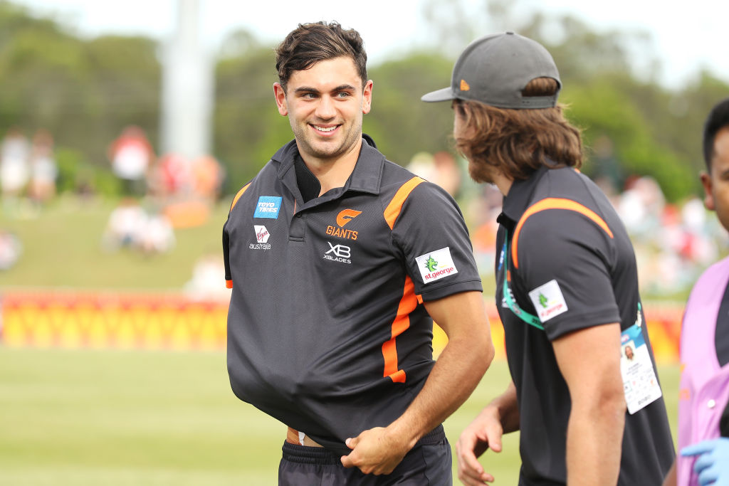 Article image for Reigning GWS best-and-fairest winner to have shoulder reconstruction