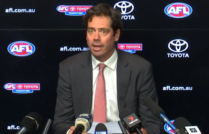 Article image for AFL announces huge change to fixture due to coronavirus