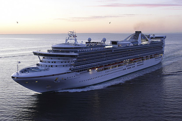 Article image for Cruise ship passengers being tested for COVID-19 in Melbourne