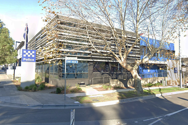 Article image for Coronavirus forces closure of Melbourne police station
