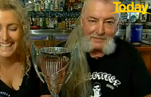 Article image for Australia's best mullet winner is a 3AW listener who confused a Gold Coast radio station