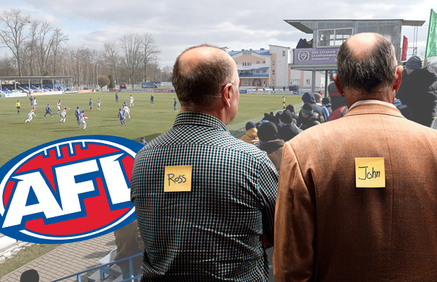 Article image for The ABFL: Ross and John's Footy Fix – Round 2 and ladder