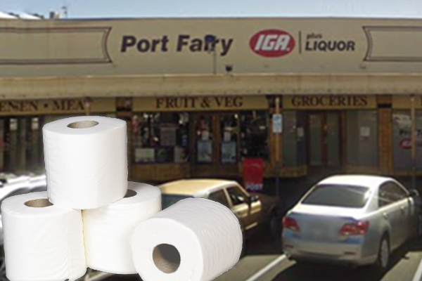 Article image for Port Fairy supermarket owner's act of kindness amid coronavirus panic