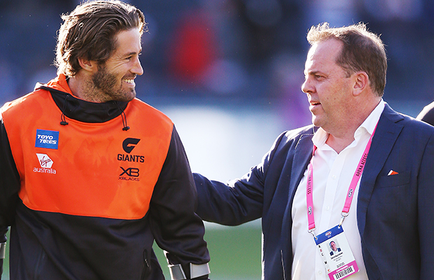 Article image for GWS chief responds to NRL link