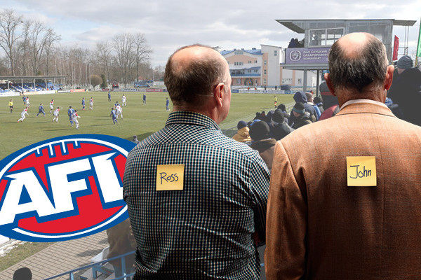 Article image for The ABFL: Ross and John's Footy Fix – Round 5 and ladder