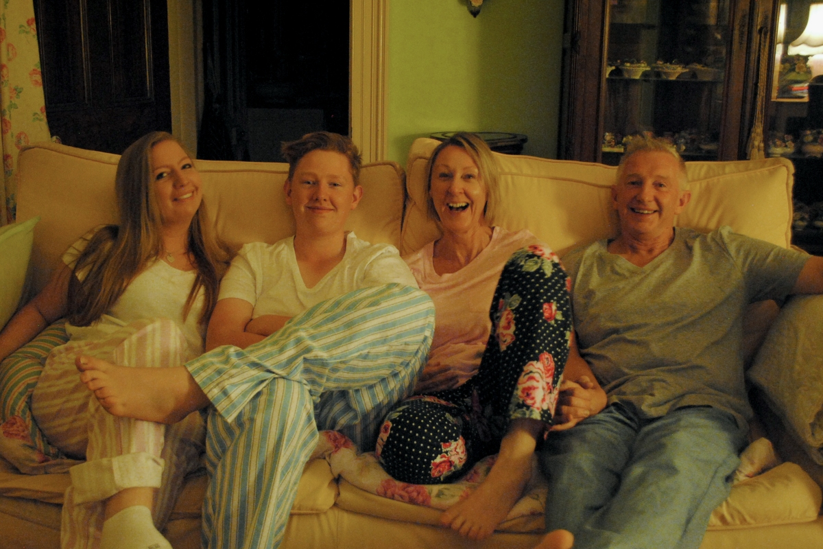 Article image for PHOTOS: Dee Dee's annual Easter pyjama tradition