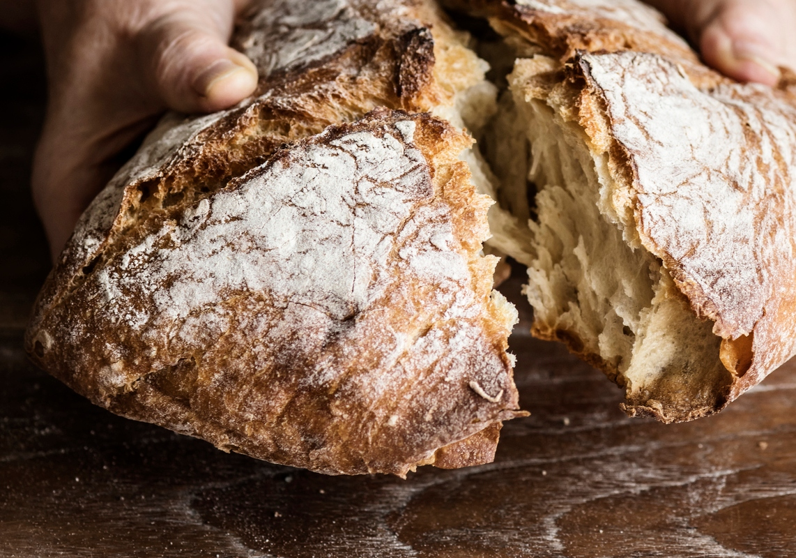 Article image for Adrian Richardson's no-knead sourdough bread recipe
