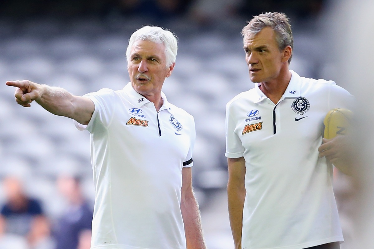 Article image for 'Been through a hell of a lot': Mick Malthouse gives an insight into Dean Laidley