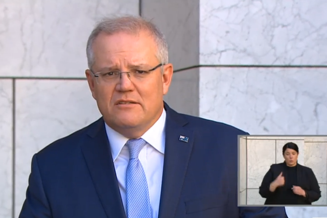 Article image for Scott Morrison reveals 'terribly shocking' impact COVID-19 has had on jobs