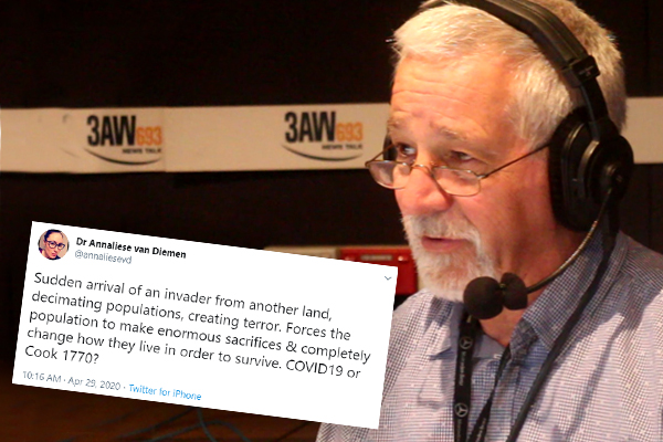 Article image for Why Neil Mitchell doesn't think deputy health chief should be sacked over tweet