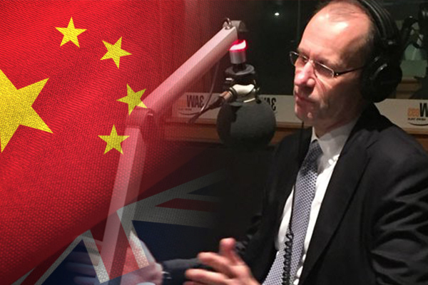 Article image for ANZ boss says the deteriorating Australia—China relationship is 'concerning'