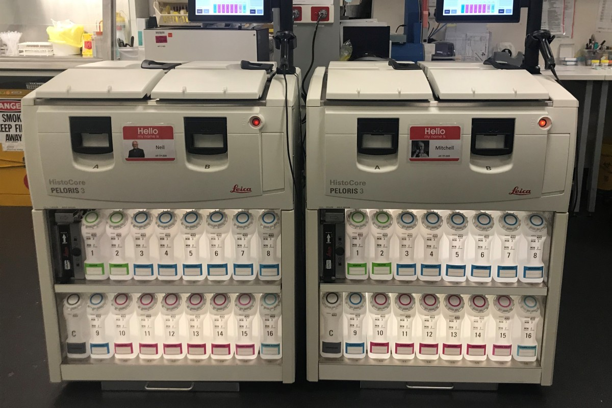 Article image for Neil's Wheel: The Royal Children's Hospital just received a new tissue processing machine!