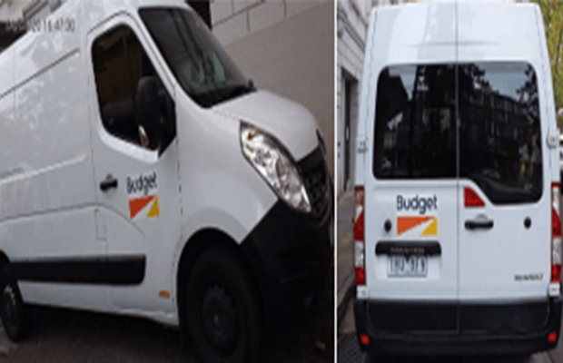 Article image for Have you seen this van? Thieves target florist shop