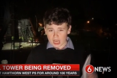 Historic Hawthorn icon ripped down — and this kid scooped us