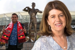 Caroline Wilson slams Sam Newman and Don Scott over comments about iconic Nicky Winmar moment