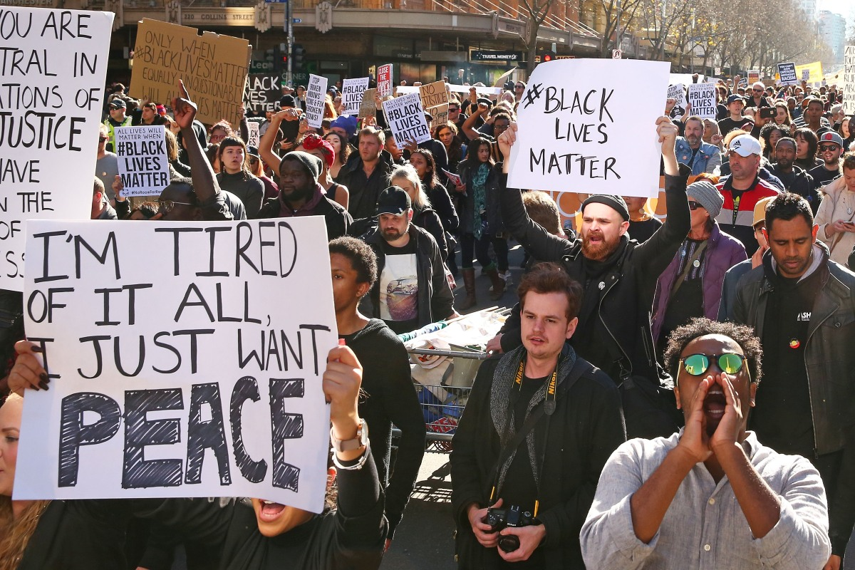 Article image for Victorian health chief's advice on the Black Lives Matter protest planned for Saturday
