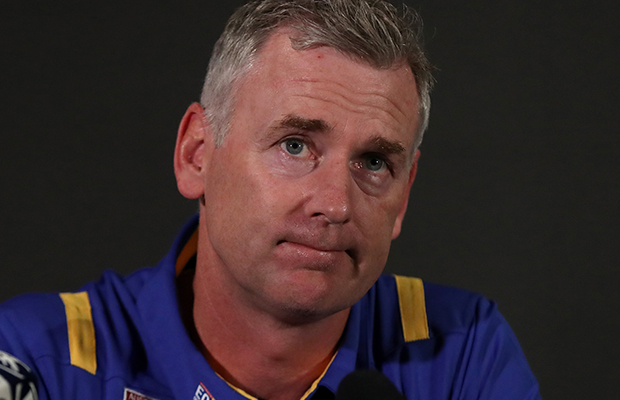 Article image for West Coast coach demands clarity over stay in AFL Queensland coronavirus hub