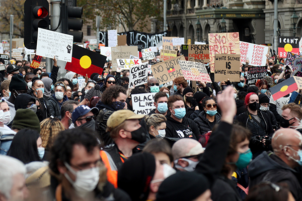 Article image for COVID-19 latest: Protester tests positive as Victoria records worst day in almost a month