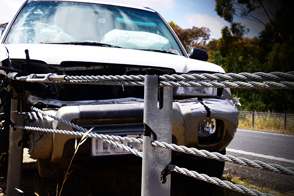 Article image for BARRIER BLOWOUT: Wire ropes over budget, over-spruiked