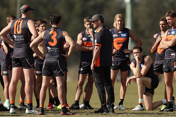 Article image for GWS says there's zero chance of Leon Cameron being sacked as coach