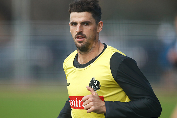Article image for Collingwood champion Scott Pendlebury suffers quad injury