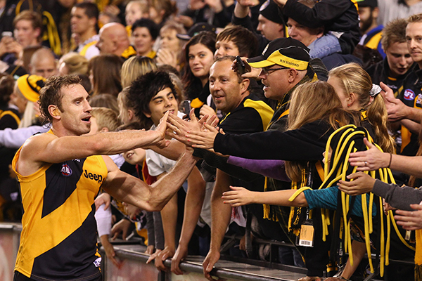 Article image for Matthew Richardson explains why Richmond fans loved Shane Tuck