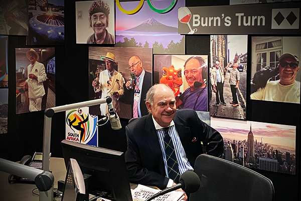 Article image for Bye Burnso! We say farewell to a radio legend