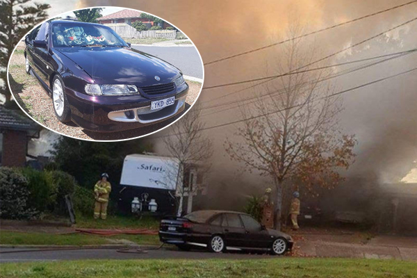 Article image for 'Rotten mongrels' snatch man's car a day after he lost everything in a house fire