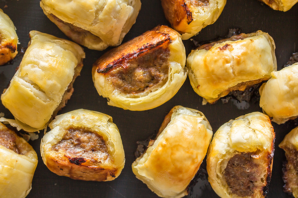 Article image for Grubby shares his favourite recipe for sausage rolls!