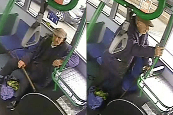 Article image for Police hunt for elderly man who allegedly spat on a bus driver at Brunswick