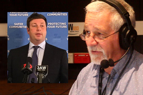 Article image for Neil Mitchell grills rogue Victorian Liberal MP over Sydney radio rant
