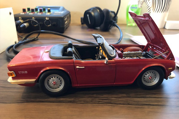 Article image for Neil Mitchell shares his model car collection