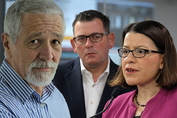 Article image for Neil Mitchell questions why Daniel Andrews didn't sack Jenny Mikakos