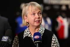 Richmond president Peggy O'Neal isn't a fan of night grand finals