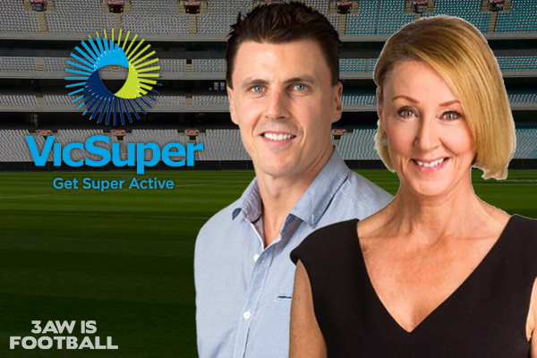 Article image for Dee Dee Dunleavy hands over $25,000 to this year's 3AW Footy Tipping winner!
