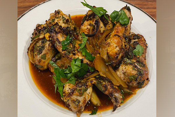 Article image for Adrian Richardson's sweet and sticky chicken wing recipe