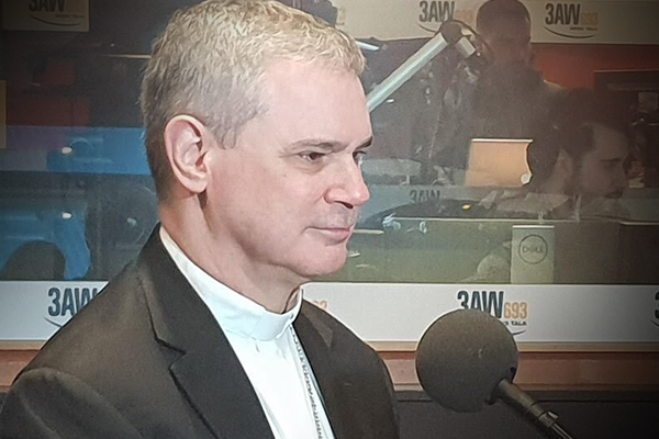 Article image for Melbourne Archbishop says restrictions on religious gatherings are 'unfair'