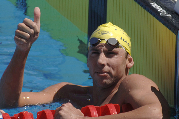 Article image for Olympian Grant Hackett's message to Australians as businesses fight to survive