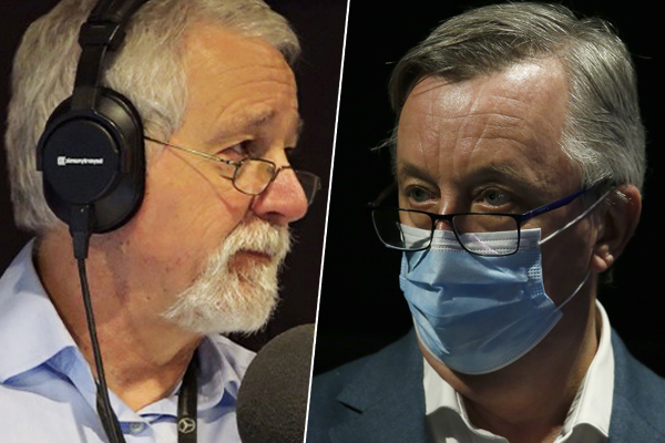 Article image for Neil Mitchell grills Health Minister over Victoria's COVID-19 strategy