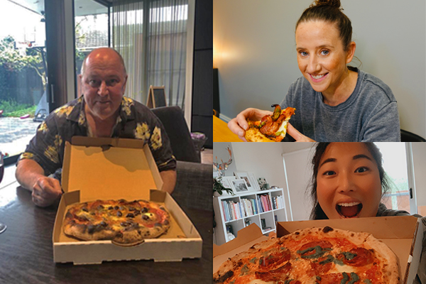 Article image for The 3AW Breakfast team review their favourite pizzerias